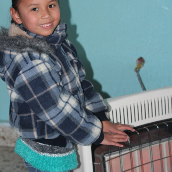 Heating for 65 children for 5 weeks