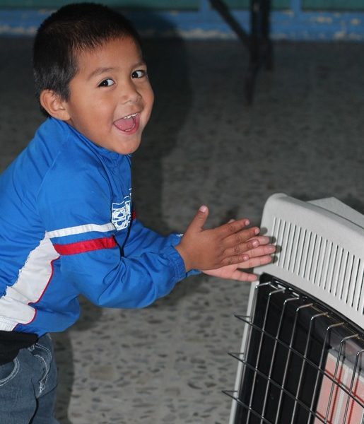 Heating for 2 children for a month